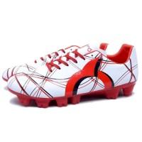 Sepatu Bola Ortuseight Ventura FG White Red Black