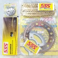 Gear set SSS Honda CRF 150L / Gearset CRF / Girset CRF SSS ≤ 48 - 39s/d40