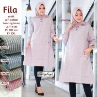baju wanita blouse tunik fila jumbo muslim modern unik modis lucu