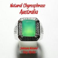 CINCIN NATURAL CHRYSOPRASE AUSTRALIA HQ NEFRIT AUSTRALI