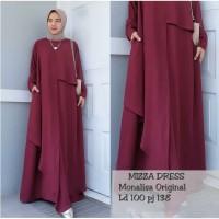 👌TERLARIS 👌 Gamis Baju Muslim MIZZA DRESS :ISTHIKA TERMURAH