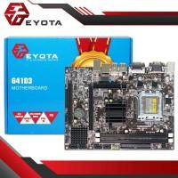 MOTHERBOARD EYOTA G41-D3 SOCKET LGA 775 771 DDR3 G41 D3 G41D3