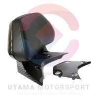 Backrest Sandaran Penumpang Belakang Honda PCX 150 Lokal Carbon Nemo