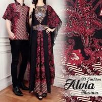 Baju Couple Batik Pasangan Baju Keluarga Muslim Setelan Atasan Premium
