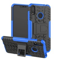 Asus Zenfone Max Pro M2 Case Robot Armor Rugged Rubber Soft+Hard Cover