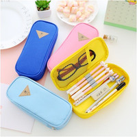 [PENCIL BAG] CANDY COLOR design / Kotak Pensil dgn warna contrast