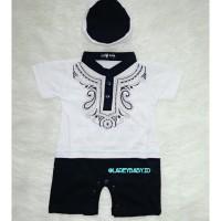 Baju Koko Bati Laki-laki 0 sampai 6 bulan