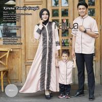 Baju Couple Keluarga Pasangan Muslim Family set Ayah Ibu Anak Ori Najw