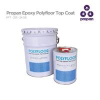 TOP COAT CAT LANTAI EPOXY POLYFLOOR EPOXY PFT-253-2K SB 5 Kg set