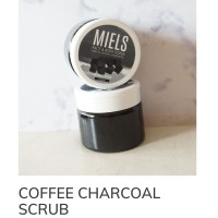 Miels charcoal face & body scrub