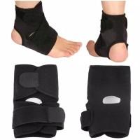 Mudah Di Pakai Ankle Support Brace Foot Sprain Injuri Pain Wrap
