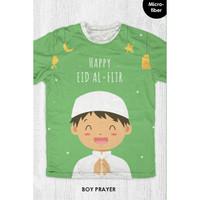 Kaos Lebaran Anak / Dewasa - Boy Prayer