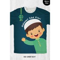 Kaos Lebaran Anak / Dewasa - Eid Greet Boy