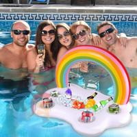 Floaties Rainbow Mini Bar/ Float / Pelampung Unik / Ban Renang