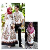 Couple Gamis Bambu Jumbo Baju Couple Keluarga Batik Set Anak Cewek