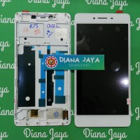 Lcd + Touchscreen Oppo R7S With Frame