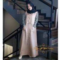 Gamis termurah inji dress[baju remaja muslim] terbaru 2019