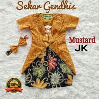 Baju Anak 3- 5 th / Baju Anak Perempuan / Kebaya Anak / Kebaya Mustard