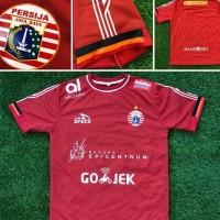 Jersey Baju Kaos Persija Home 18/19 Grade Ori Liga 1 Gojek Futsal