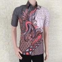 Model Baju Kemeja Batik Modern Pria    Batik Kerja   Sekar Jagad