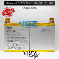 Baterai Asus Zenfone 3 Laser 5.5inch ZC551KL C11P1606 Original 100%