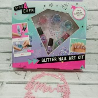 Glitter Nail Art Kit READY STOCK