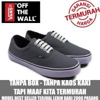 CUCI GUDANG !!! Sepatu Sneakers Pria Vans Era Authentic Grey Casual