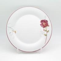 Tafel21 Piring Makan Keramik Rosewood 10.5 Inci Isi 1