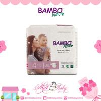 Bambo Nature Dream Maxi 4 L (Popok Perekat 30 Pcs)