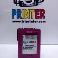 isiprinter Tinta HP 802 Color Cartridge Compatible - Warna