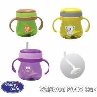 JP019 Baby Safe Botol Minum Dengan Bandul Pemberat / Cup