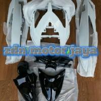 cover body fullset bagian halus vario 110 karbu lama warna putih