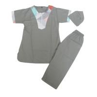 Setelan Baju Koko Turki Bayi/ Anak Laki Laki Size L estimasi 3-4 Tahun