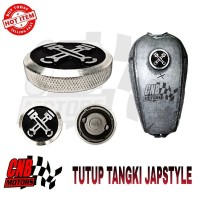 Promo Tutup Tangki CB Jap Japs Japstyle Caferacer Chopper Custom 002