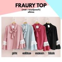 Fraury Top grosir suplier baju online murah blouse grosir baju kodian