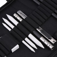 [Import] 33pcs Drawing Sketch Set Charcoal Pencil Eraser Art Craft