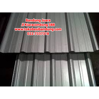 Spandek / Spandeck Atap Zincalume 0,35 x 5 Meter - Bandung Besi