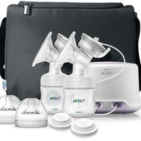 Phillips avent natural twin electric breastpump pompa asi electric