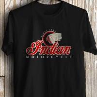 KAOS/TSHIRT/BAJU INDIAN MOTORCYCLES/KAOS DISTRO BERKUALITAS