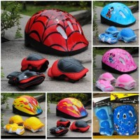 Helm anak/ Safety Helmet Set Anak-anak / Helm Pelindung Anak