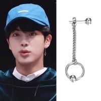 AB-03 BTS jin seokjin earring earrings bangtan rantai rumbai