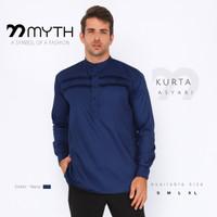 MYTH/ Kurta/ Songket/ Kemeja muslim Slimfit/ Koko/ Baju Lengan Panjang