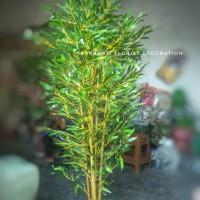 Pohon Bambu Plastik Artifisial Tinggi 170cm