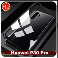 Huawei P30 Pro Magnetic Metal Frame Shell Case Casing Sarung Cover HP