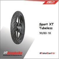 Ban Luar FDR Tubless Sport XT 90 80 Ring 18 Ban Motor Depan Belakang