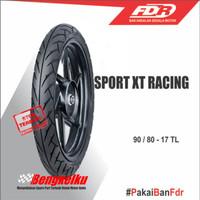 Ban Luar FDR Tubless Sport XT Racing 90 80 17 Ban Depan Belakang