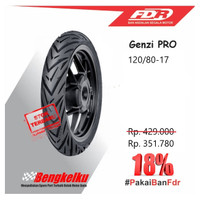 Ban Luar Motor Sport Tubeless Ban FDR Genzi PRO 120/80-17