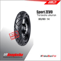 FDR 80/80-14 Sport Zevo Tubless Ban Depan Motor Matic Honda Yamaha