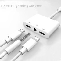 LIGHTNING TO 3.5 AUDIO ADAPTER IPHONE X XS IPHONE 7PLUS IPHONE XS MAX