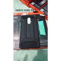 case spigen REDMI NOTE 4X XIAOMI ruber hardcase softcase CASING